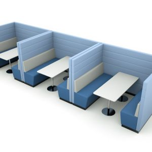 Citrus Seating Dinah Modular Canteen Style Office Seating Booths