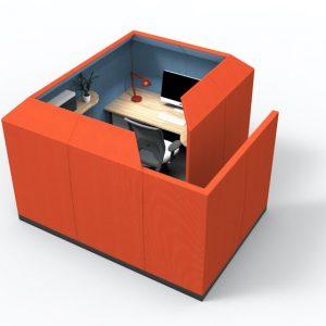 Citrus Seating Luna Pod Office Work Space