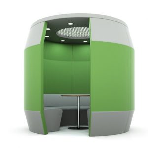 Citrus Seating Office Booth Ringo Pod Soft Seating