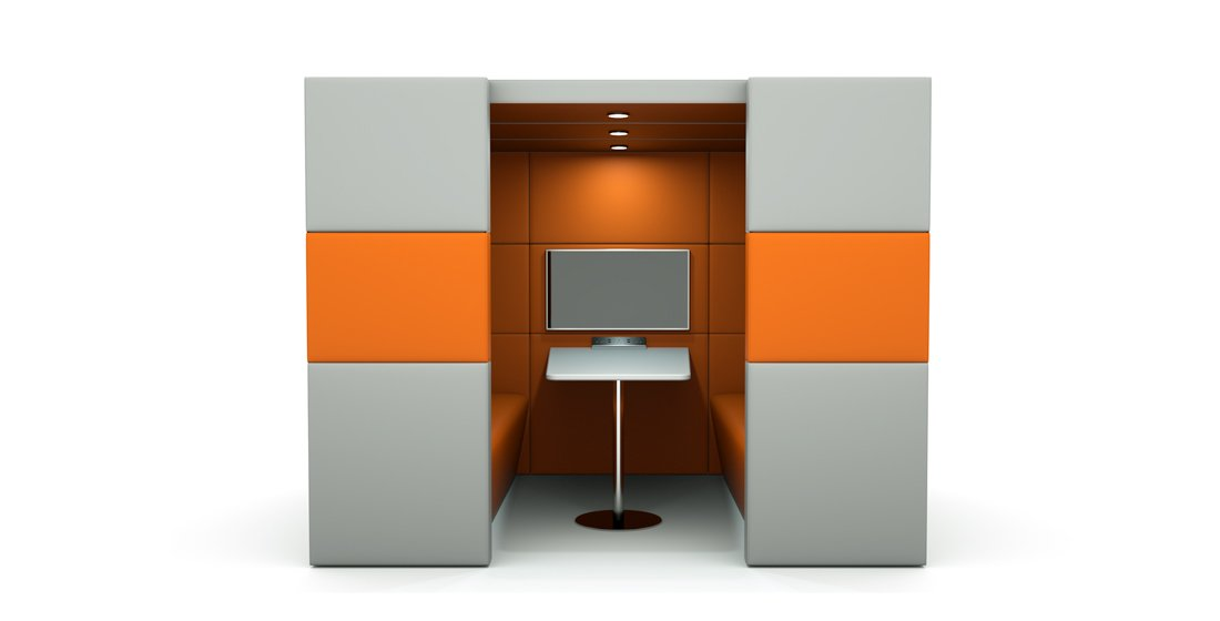 Citrus Seating Shelton Booth Office Work Space