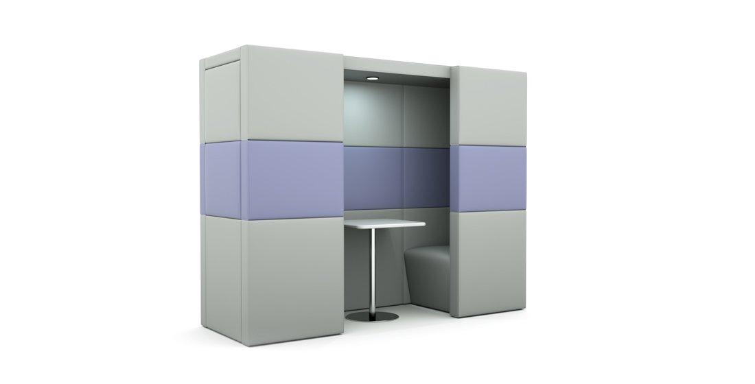Citrus Seating Shelton Modular Office Seating Booth