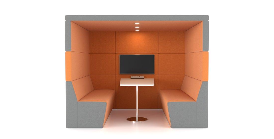 Citrus Seating - Shelton Office Booth