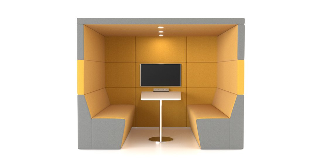 Citrus Seating Office Booth