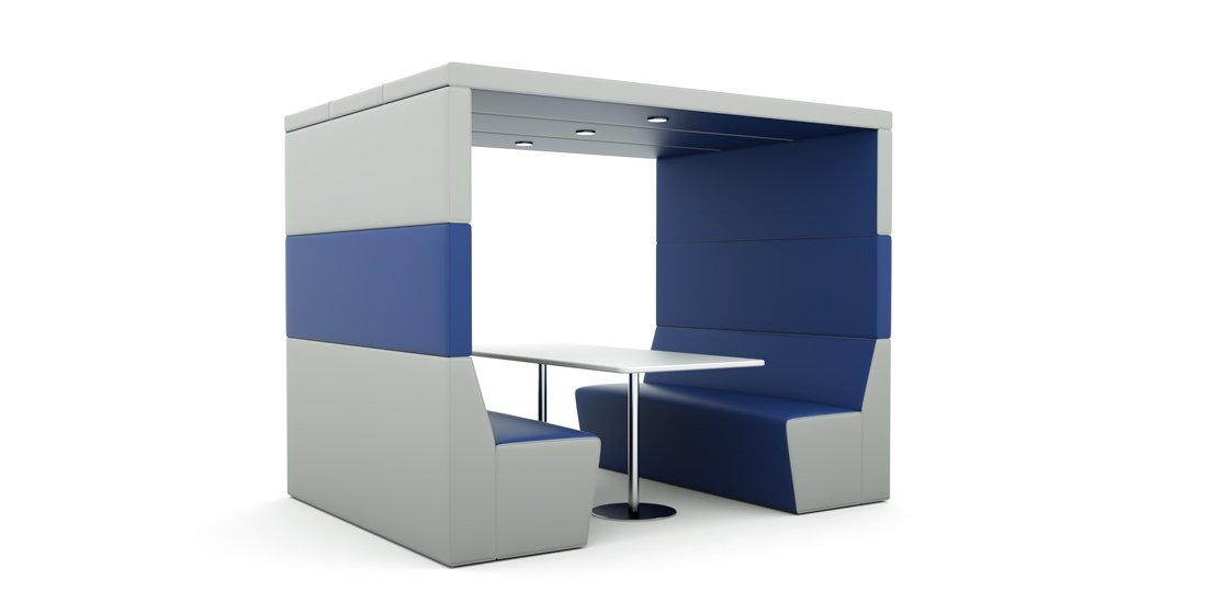 Citrus Seating Shelton Office Booth