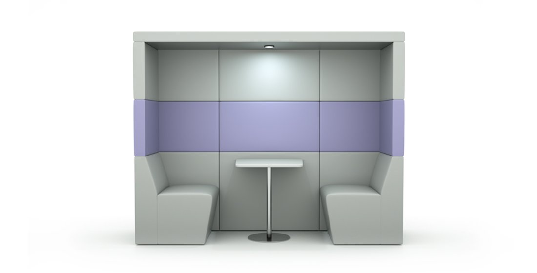 Citrus Seating Shelton 2 Person Booth