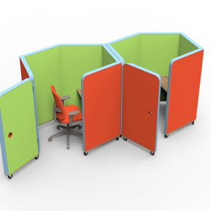 Citrus Seating Pearl Office Booths Private Workspace Enclosures